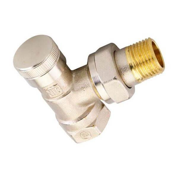 Радиаторный клапан Danfoss обратный угловой типа RLV