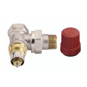 Термостатический клапан Danfoss угловой типа RTR-N бывшее название RA-N
