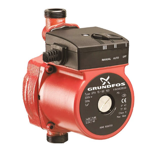 Бытовой насос Grundfos UPA автоматический для повышения давления