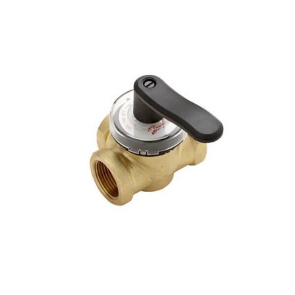 Регулирующий поворотный трехходовой клапан Danfoss HRB3 с внутренней резьбой
