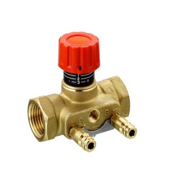 Запорно измерительный клапан Danfoss ASV-I с двумя измерительными ниппелями